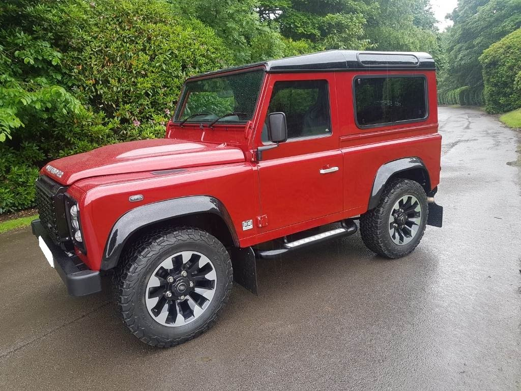 2015 LAND ROVER DEFENDER WORKS V8 70TH EDITION For Sale (picture 5 of 6)