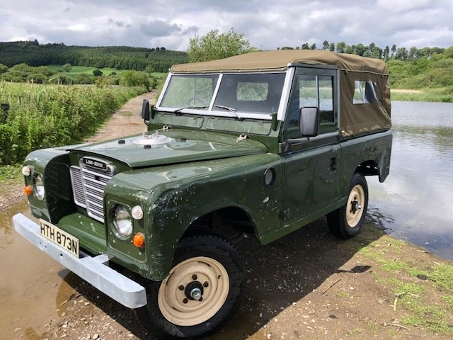 1975 Land Rover Series 3  soft top rebuilt on galvanised chassis SOLD (picture 1 of 6)