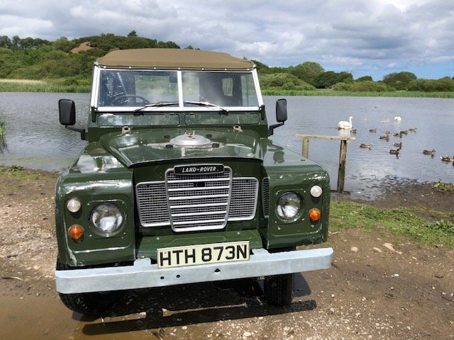 1975 Land Rover Series 3  soft top rebuilt on galvanised chassis SOLD (picture 2 of 6)