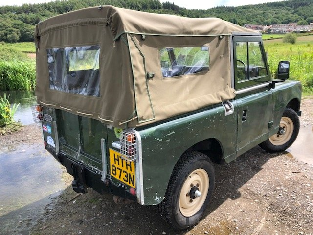 1975 Land Rover Series 3  soft top rebuilt on galvanised chassis SOLD (picture 4 of 6)