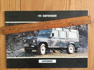 1992 Land Rover Defender Accessories brochure  For Sale