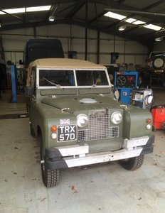 Land Rover TRX looking for a new home..