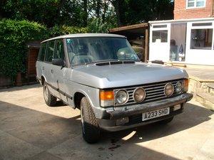 1984 Range Rover classic 3.5 v8 auto