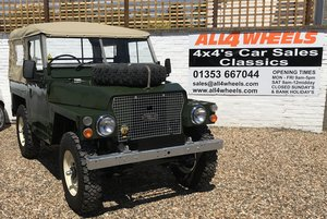 1983 Land Rover Lightweight 2 1/4 Petrol SOLD