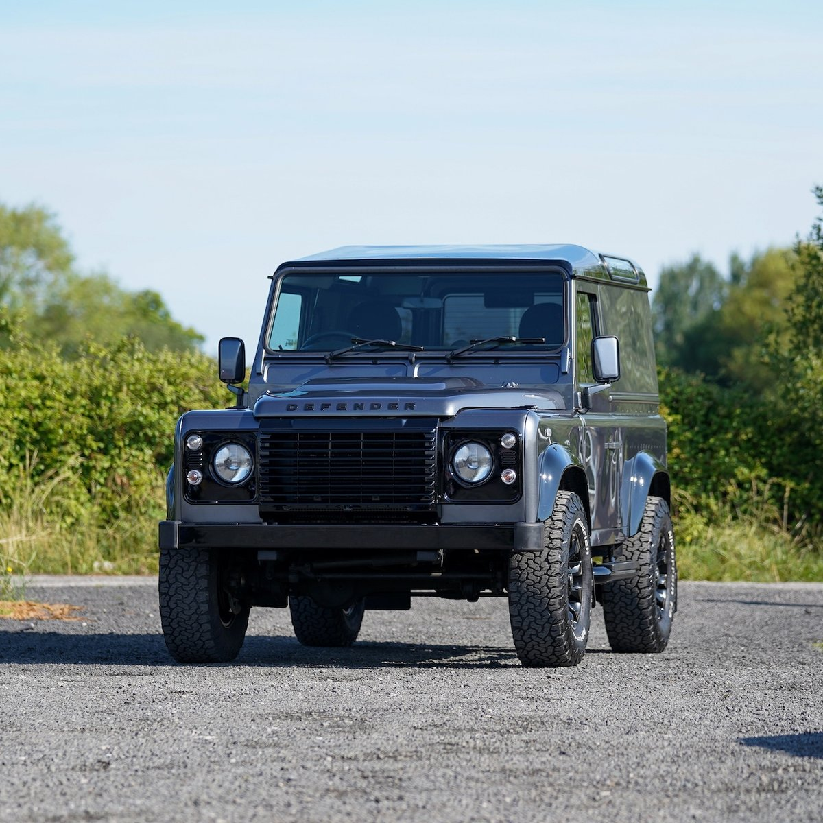 Land Rover Defender 90 2.2TD 2014 64 County Hardtop 1 Owner SOLD (picture 1 of 6)
