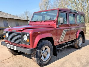 2001 Defender 110 TD5 CSW 11 seater+nice miles+good history For Sale