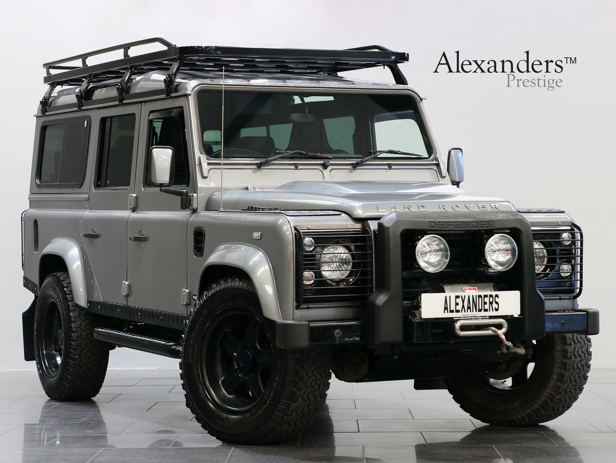 2012 12 12 LAND ROVER DEFENDER 110 TWISTED STATION WAGON 2.2 AUTO For Sale (picture 1 of 6)