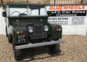 """1955 Land Rover Series 1 86"""" SOLD"""