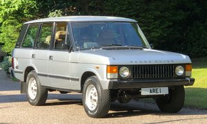 1983 RANGE ROVER CLASSIC 5 DOOR early AA chassis number
