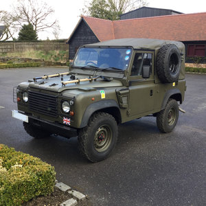 1998 LAND ROVER Classic Wolf 90