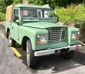 Land Rover Series 3 restored