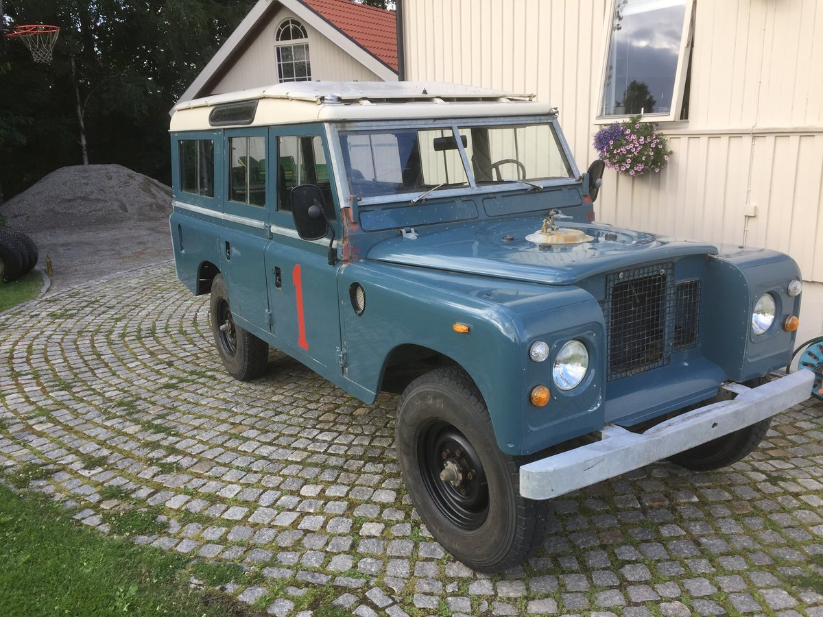 1975 LHD Series 3 LWB, 17k km from new! Fire service For Sale (picture 1 of 6)