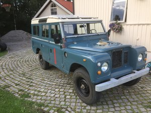 1975 LHD Series 3 LWB, 17k km from new! Fire service