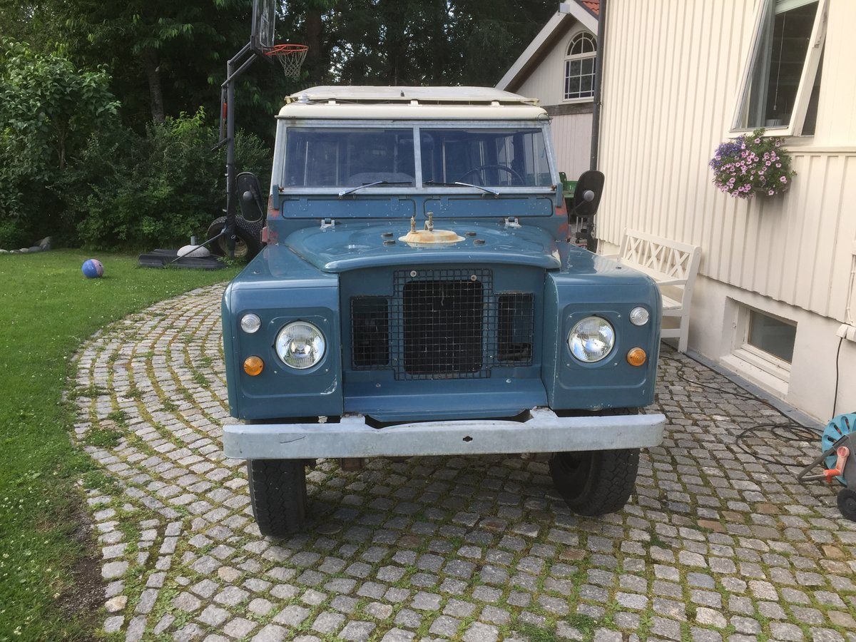 1975 LHD Series 3 LWB, 17k km from new! Fire service For Sale (picture 2 of 6)