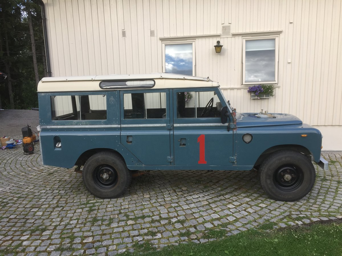 1975 LHD Series 3 LWB, 17k km from new! Fire service For Sale (picture 4 of 6)