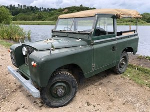 Land Rover Series 2 1960 softtop Galvanised chassis ORIGINAL