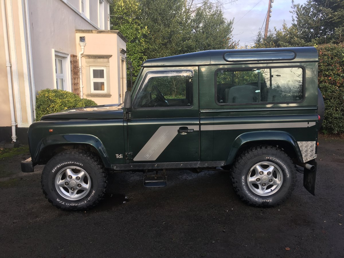 1998 Land Rover Defender Country Station Wagon For Sale (picture 1 of 6)