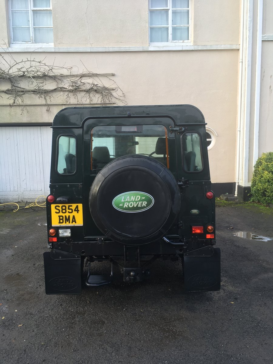 1998 Land Rover Defender Country Station Wagon For Sale (picture 3 of 6)
