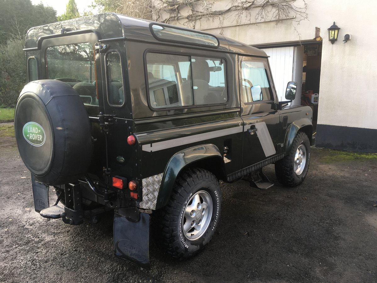 1998 Land Rover Defender Country Station Wagon For Sale (picture 4 of 6)
