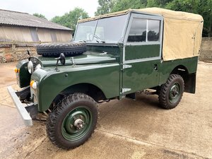 nicely patinated 1954 Series One 86in soft top For Sale