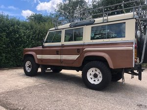 1983 Land Rover 110 V8 SW Petrol Factory Original SOLD