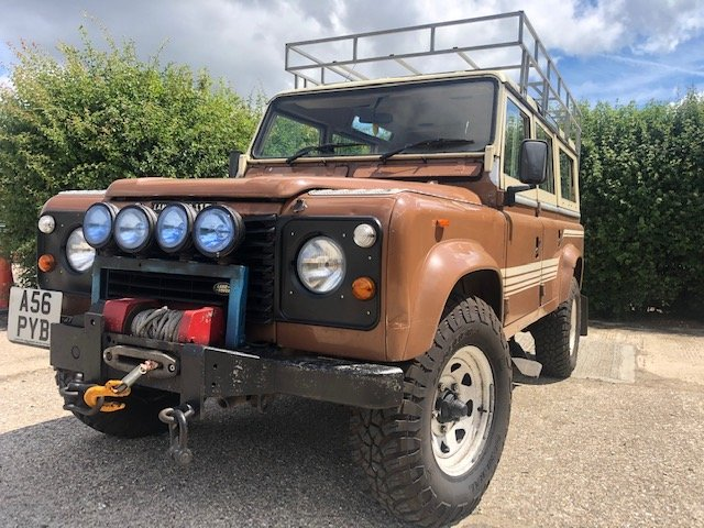 1983 Land Rover 110 V8 SW Petrol Factory Original SOLD (picture 4 of 6)