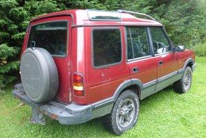 1996 Discovery Auto 300 tdI XS Leather + Logo seats