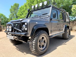 2001 GORGEOUS DEFENDER 110 TOMB RAIDER+GALVANISED CHASSIS For Sale
