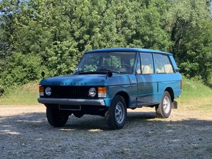 "1974 Range Rover "" Classic "" For Sale by Auction"