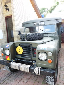 1981 Landrover series 3 109 Ambulance