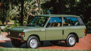 1975 Range Rover « Classic » For Sale by Auction