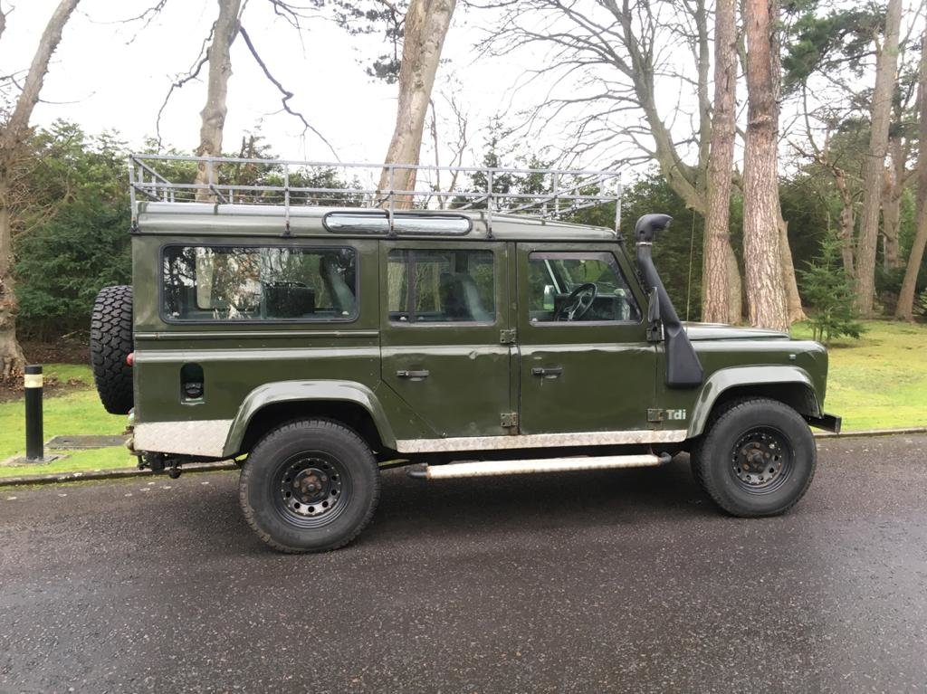 1995 Landrover 110 Defender TDI County  For Sale (picture 1 of 6)