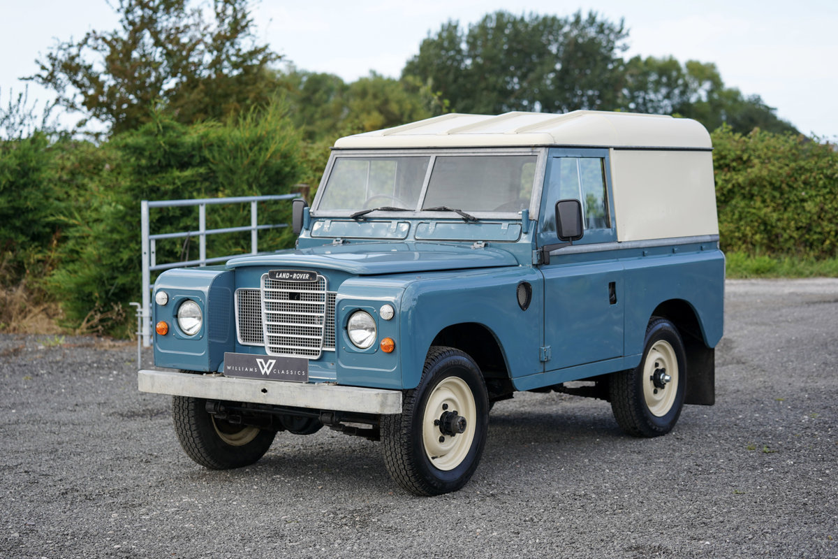"1983 Land Rover Series 3 88"" Hardtop 30,000 Miles from New  SOLD (picture 1 of 6)"