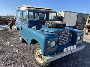 "1975 Land Rover 88"" station wagon For Sale"