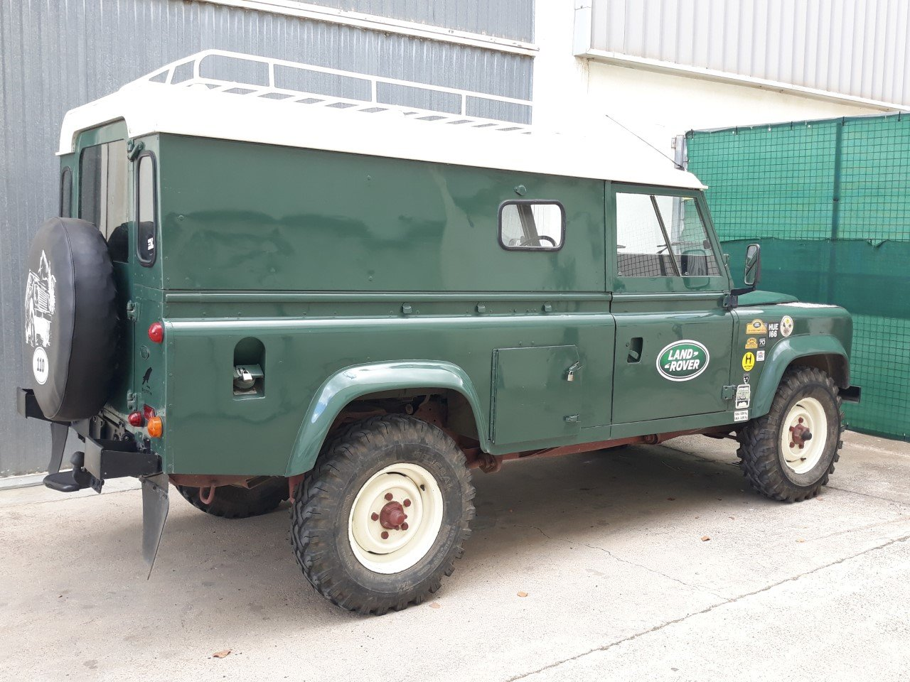 1983 LHD Land Rover Defender 110 Military, super-diesel For Sale (picture 2 of 6)