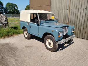 1982 Land Rover Series 3 SWB 2.25 Petrol, Galv Chassis For Sale