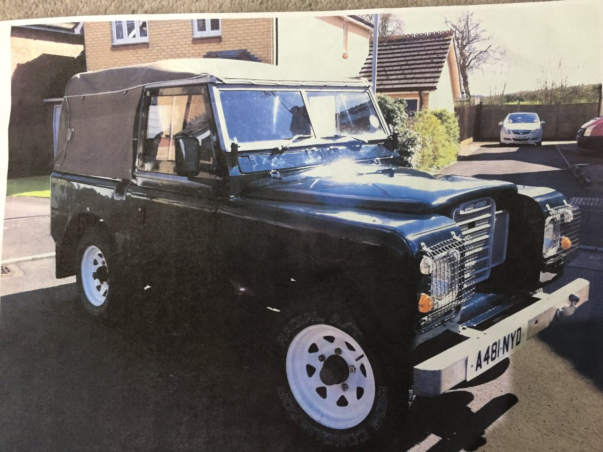 1983 Land Rover Defender 3 Series Petrol SOLD (picture 1 of 6)