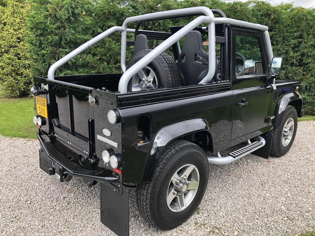 2008 Land Rover SVX 90 Soft Top For Sale (picture 3 of 6)
