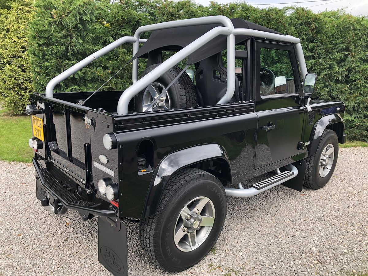 2008 Land Rover SVX 90 Soft Top For Sale (picture 4 of 6)