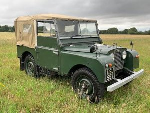 1951 Land rover series 1 80 inch 1600 cc For Sale