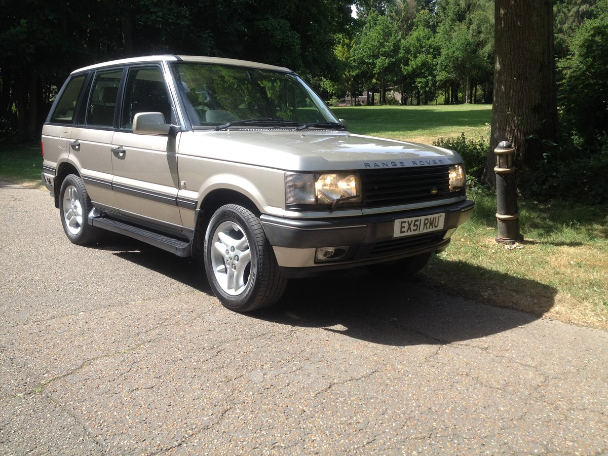 2001 RESTORED P38 RANGE ROVERS SEVERAL AVAILABLE FROM £3795 For Sale (picture 1 of 6)