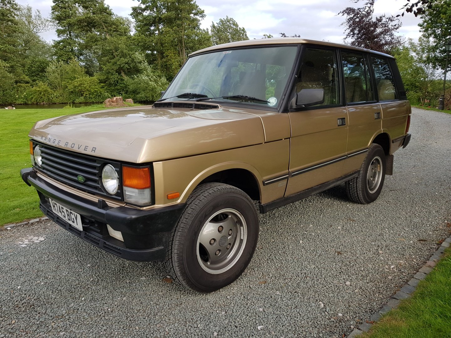 1991 Range Rover Classic 3.9 SOLD (picture 2 of 6)