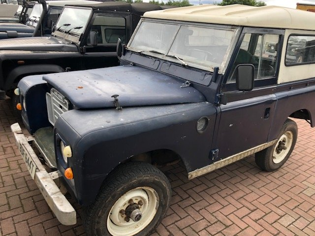 1978 Land Rover Series 3 2.25 d **Galvanised chassis & bulkhead** For Sale (picture 1 of 3)