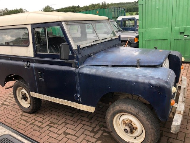 1978 Land Rover Series 3 2.25 d **Galvanised chassis & bulkhead** For Sale (picture 2 of 3)