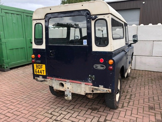 1978 Land Rover Series 3 2.25 d **Galvanised chassis & bulkhead** For Sale (picture 3 of 3)