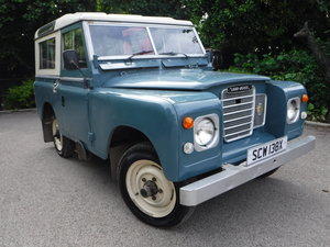 "Land Rover 88"" Series 3 1982 X-REG 4 cylinder Petrol For Sale"