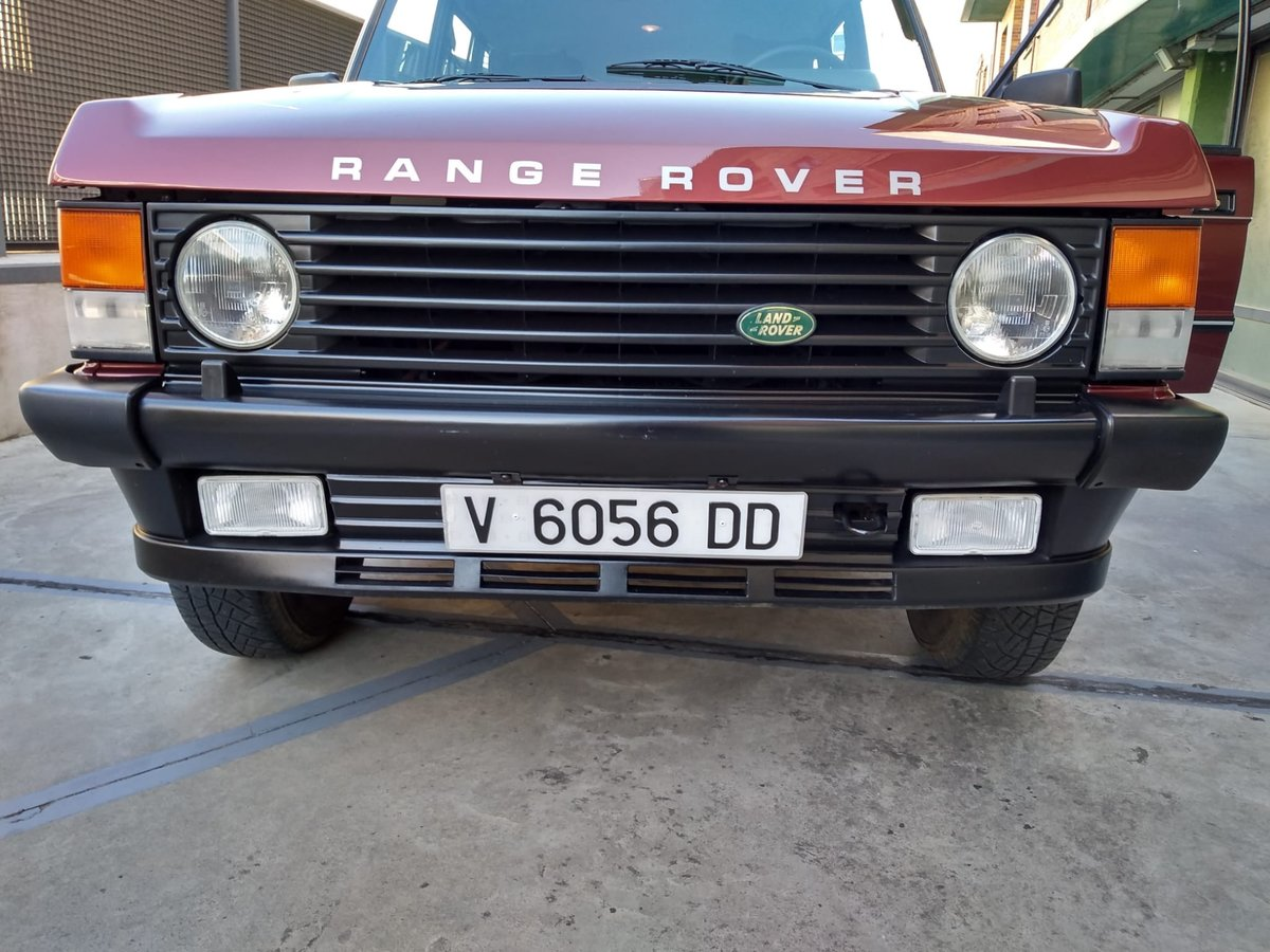 1989 Range rover 3.5 v8 vogue  color : trocadero red For Sale (picture 2 of 6)