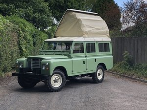 1962 Land Rover 109 Series IIA Motor Caravan For Sale by Auction