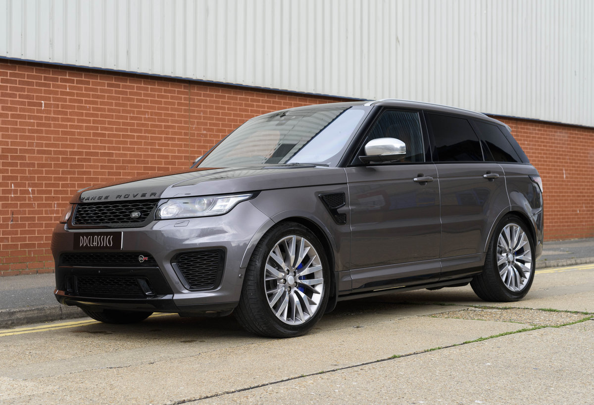 2017 Range Rover Sport SVR (RHD) For Sale (picture 1 of 24)