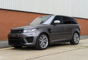 2017 Range Rover Sport SVR (RHD)